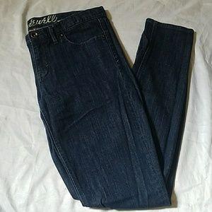 Madewell 37 Skinny Dark Wash Jeans